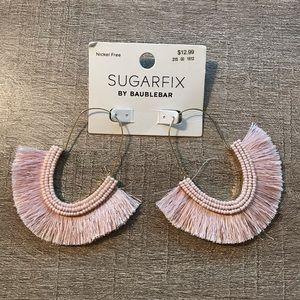 NWT Sugarfix By Baublebar GoldTone Fringe Earrings